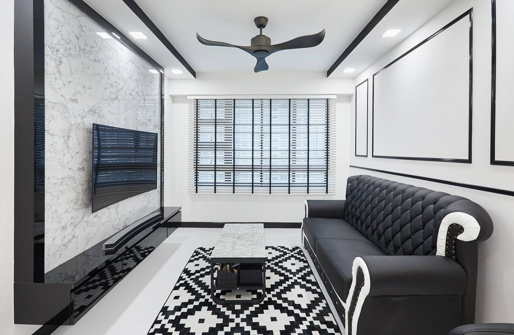 Get yourself inspired with these amazing achromatic for Inspire interior design singapore