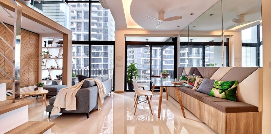 The Secret To Creating The Perfect Double Height Space
