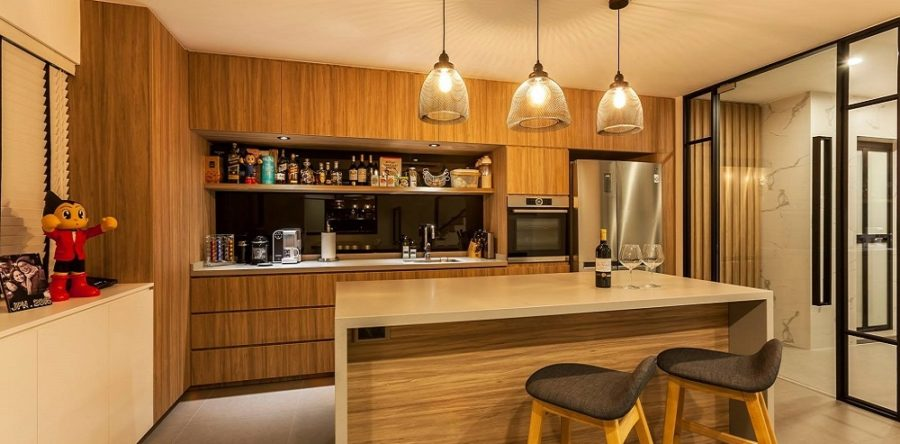 Your style guide for designing wood-on-wood interiors