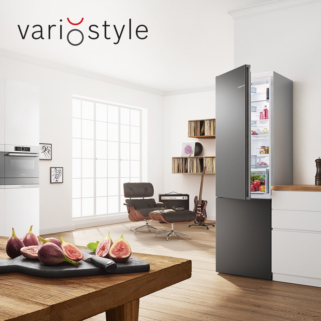 Bosch Variostyle Fridge The Perfect Match For Any Kitchen