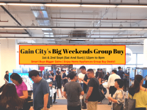 4 Reasons Why You Wouldn't Want to Miss Out The Gain City's Big Weekends Group Buy 2018!