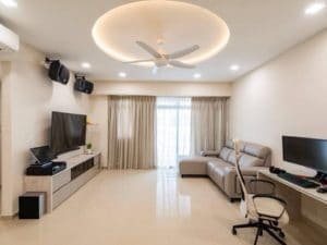 An elegant home interior for tech savvy owners