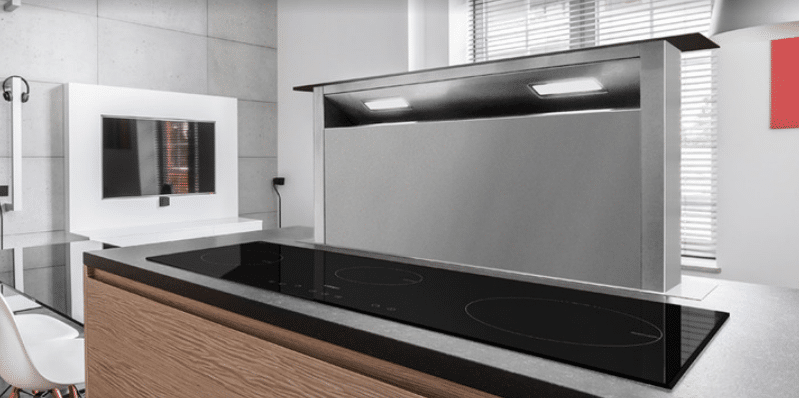 Customize Your Kitchen with OBRO's VORNEHM HD6 Downdraft Cooker Hood