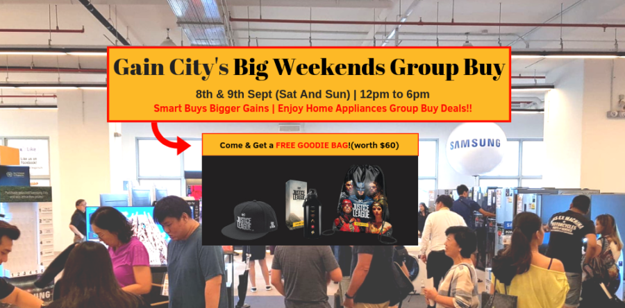 4 Reasons NOT to miss The Gain City's Big Weekends Group Buy Last 2-days!