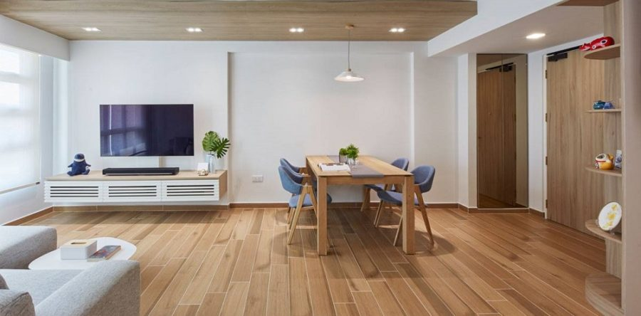 Here's what you need to know about using wooden textured ceilings