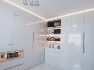 How to design lighting for a white themed interior design