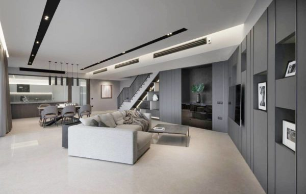 Bright, Grey & Spacious