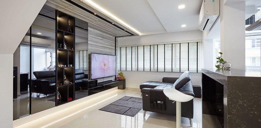 Go plush with the Minotti interior design style