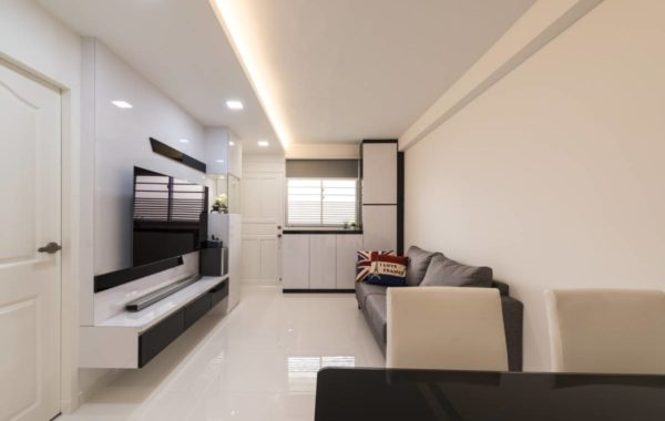 WHITE AND SPACIOUS