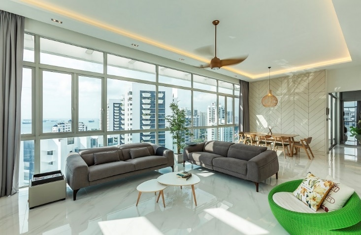 5 Tips For Arranging Furniture Layout In Homes With Large Windows