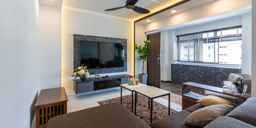 Contemporary Oriental Vibes Interior Design