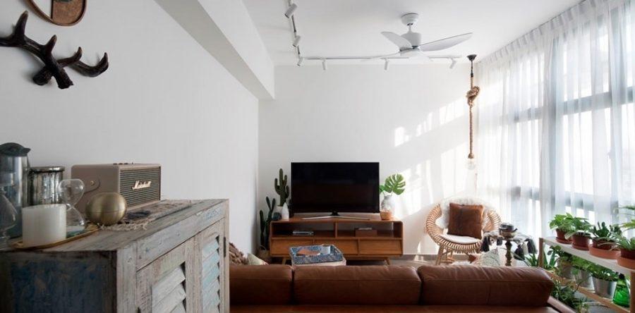 Inside A Bohemian Scandinavian Home