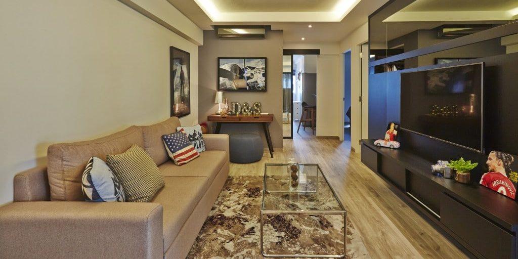 Sleek and Rustic Interior Design