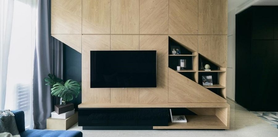 TV Feature Walls In The Living Room: Ideas From Real Homes