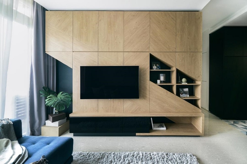 Tv Feature Walls In The Living Room Ideas From Real Homes