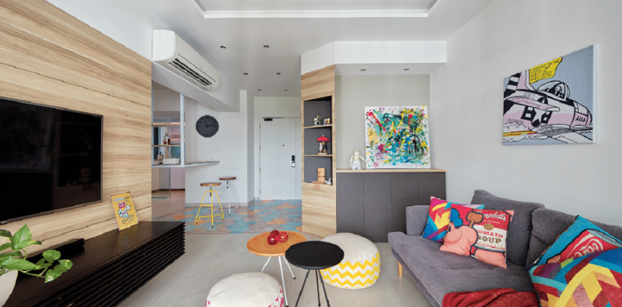 5 Tips For Making Your Homes Colourful
