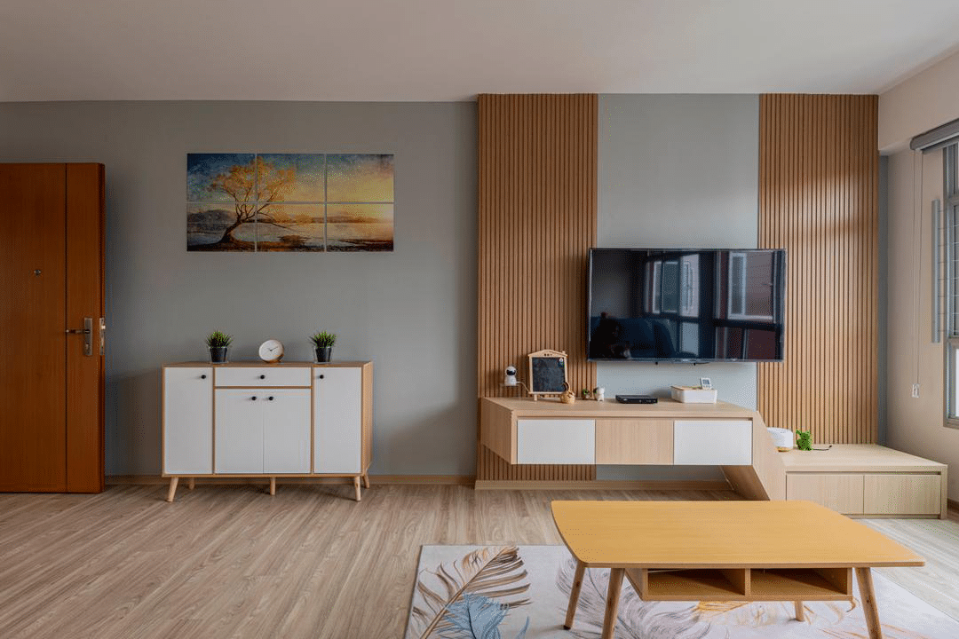 6 tv feature wall ideas for your living room  decoman