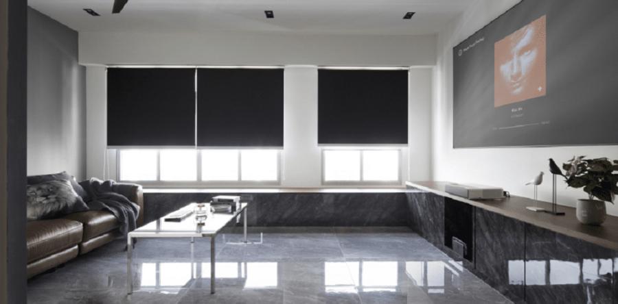 Go Urban Chic With Dark Coloured Interior Designing