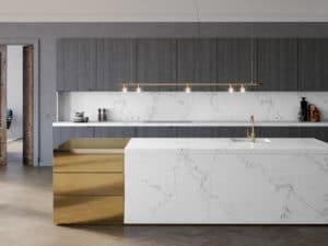 5 Ways to Apply Caesarstone's New 5151EmpiraWhiteQuartzin Your Home