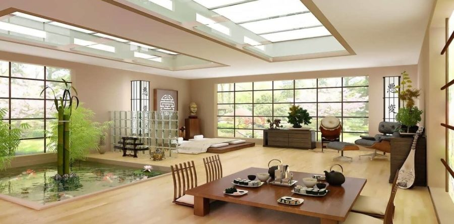 The Japanese Style Interior Design Tips With Harmony, Respect, Purity And Tranquility