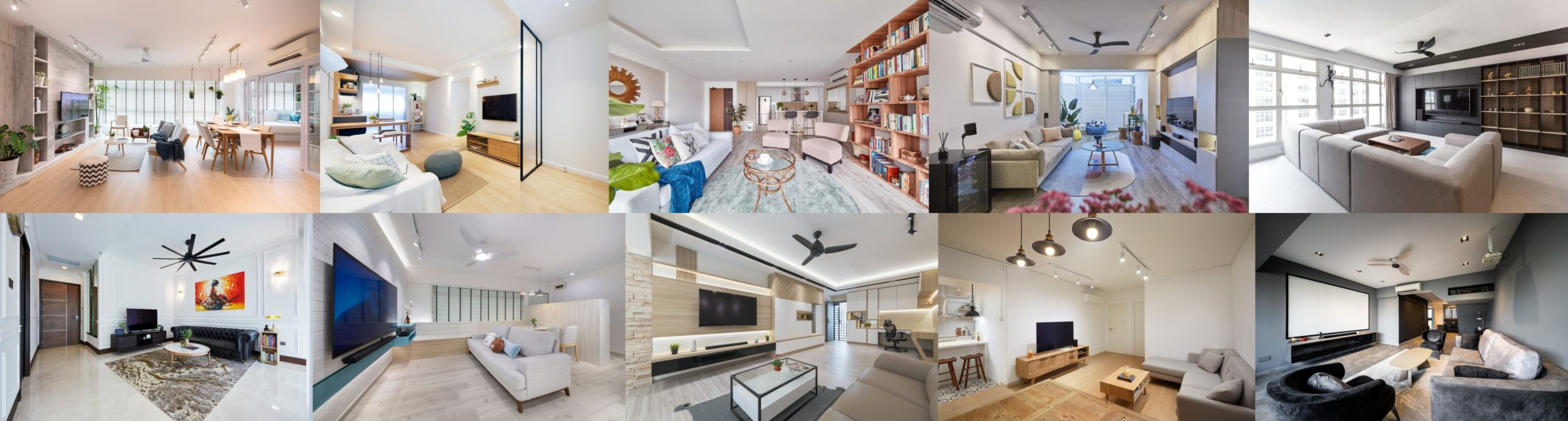 Interior Designers in Singapore are trained to take space, budgets, and the client - designer relationship into consideration.