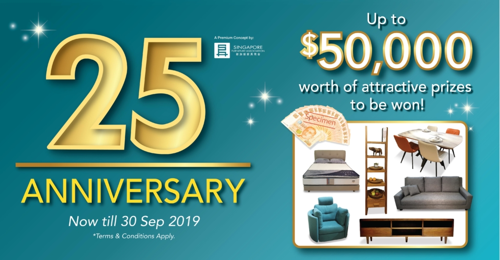 Celebrate With 25% Selected Sale On The 25th Anniversary Of The Furniture Mall
