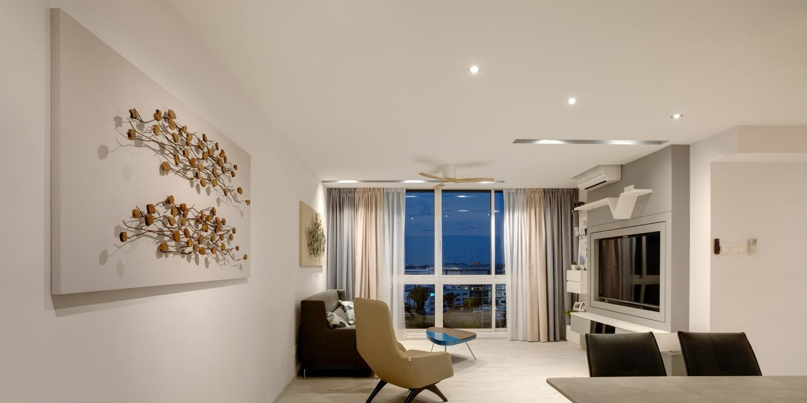 Clean White Modern Home Interior Design