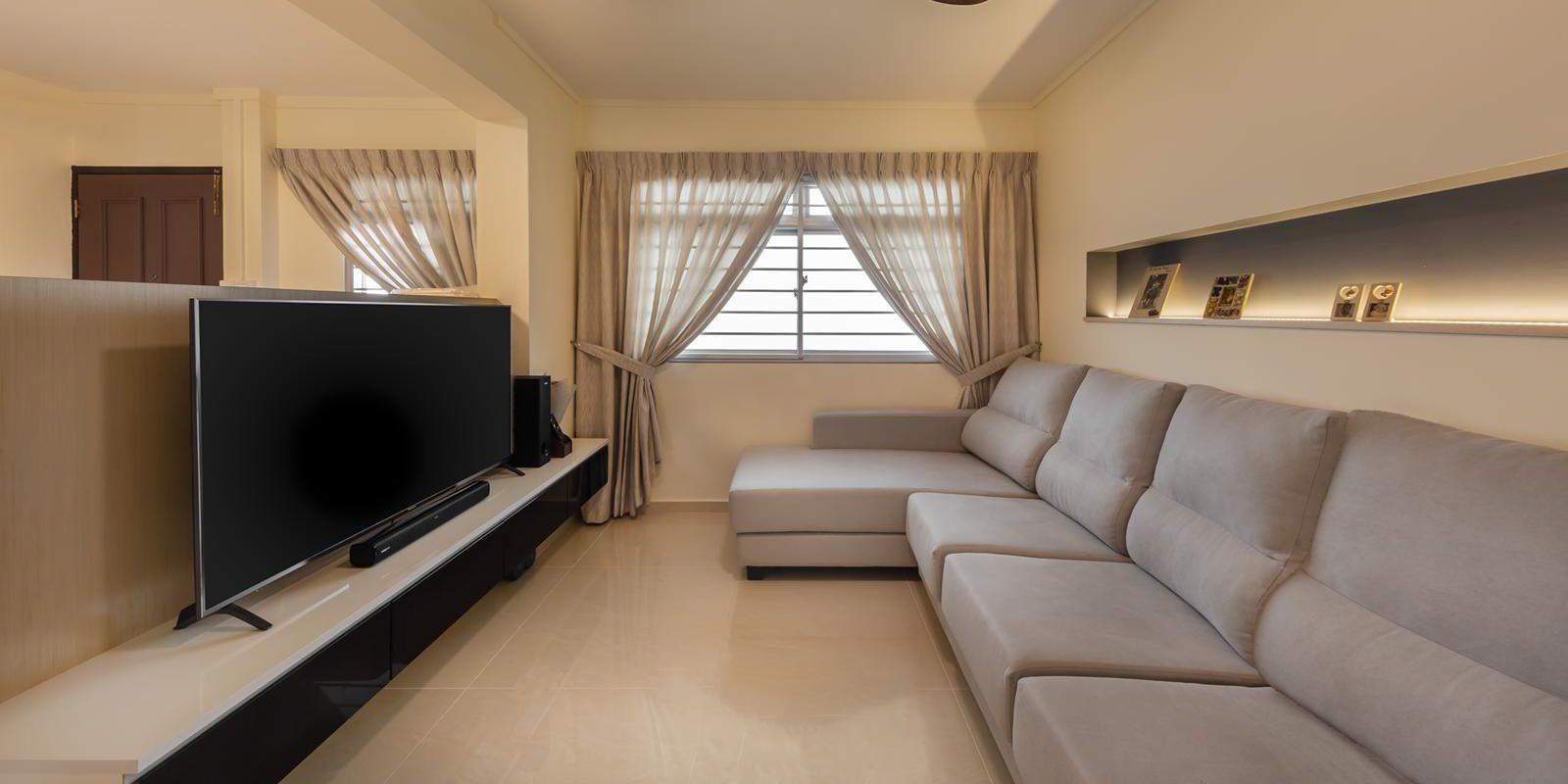 Clean and Spacious Modern Home Interior Design
