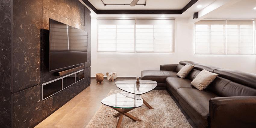 Edgy Modern Industrial Interior Design
