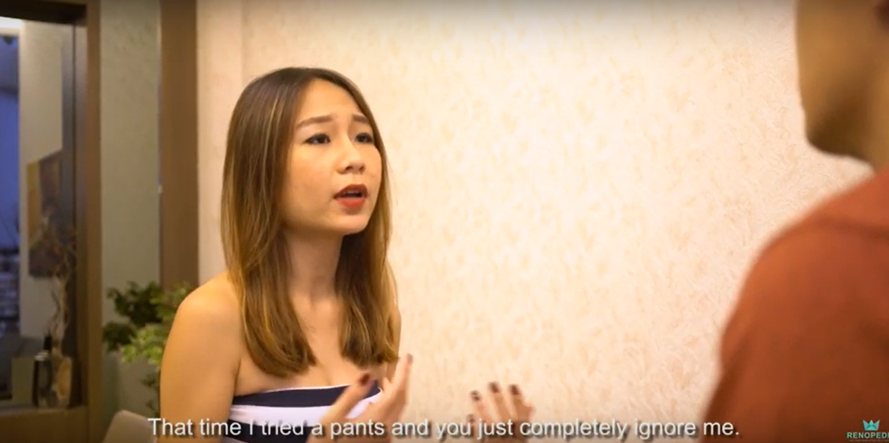 Home Renovation Singapore | You won't believe what was going on between the two love birds.