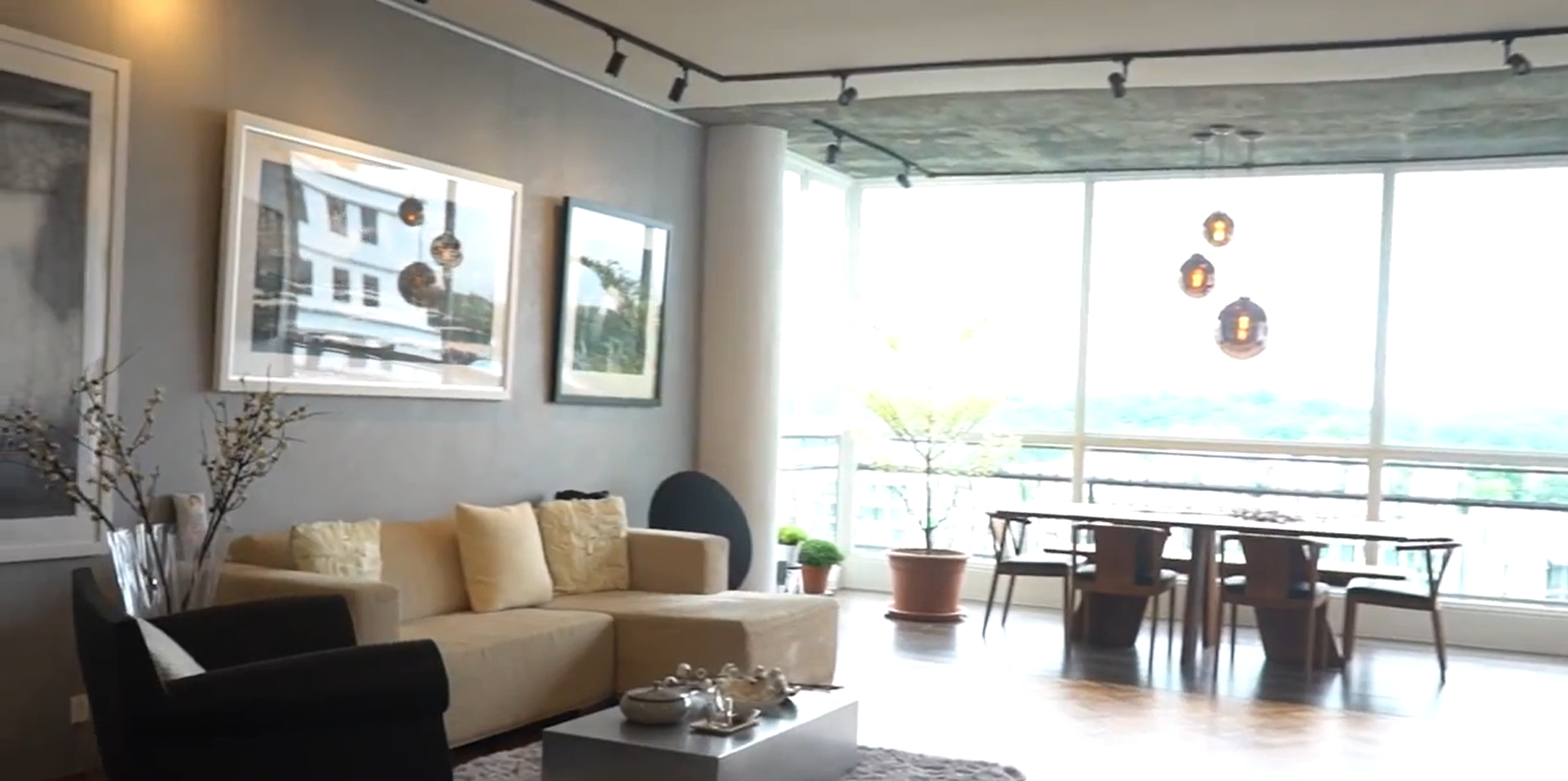 Interior Design Singapore| Minimal Artistic Themed Home (Free Space Intent)