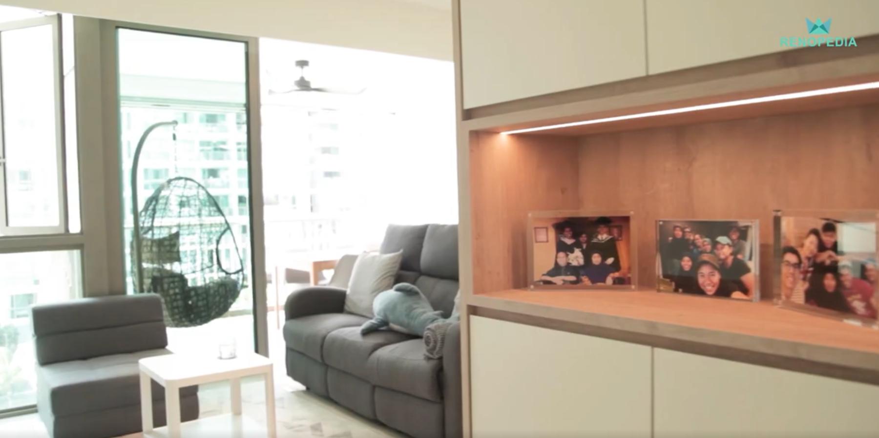 Interior Design Singapore | Minimalistic Home (TM Designers)