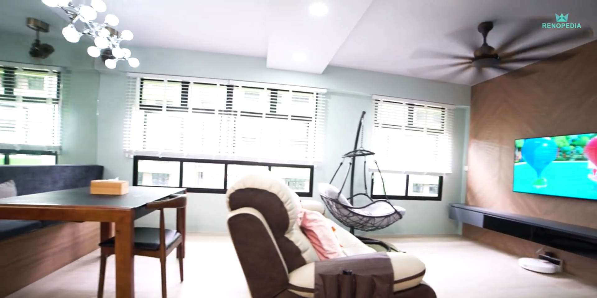Interior Design Singapore | Ultimate Space Saving Home (Letz Interior)