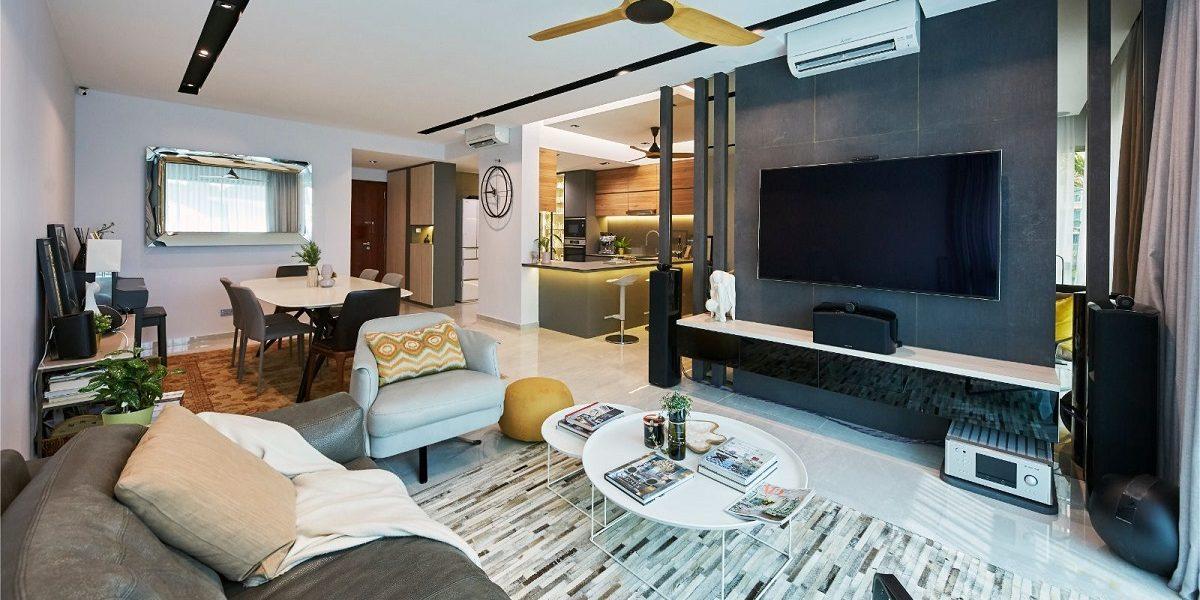 Modern Yet Warm Home Interior Design
