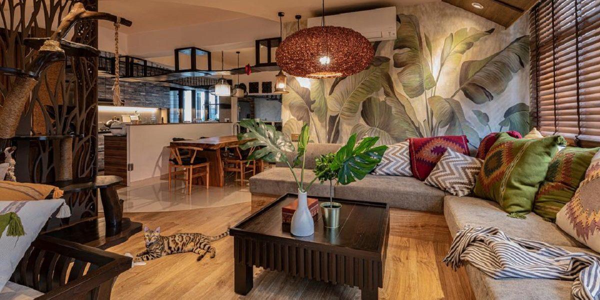 Organic Contemporary Interior Design