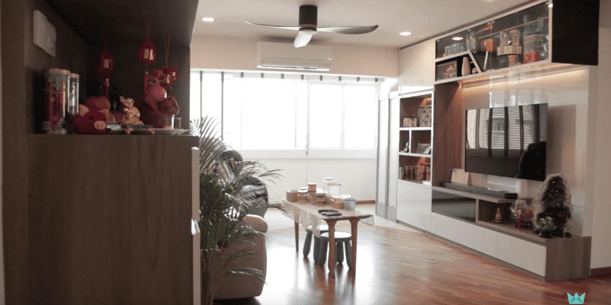 Interior Design Singapore | Modern Scandinavian home by LiVinci Interior Design