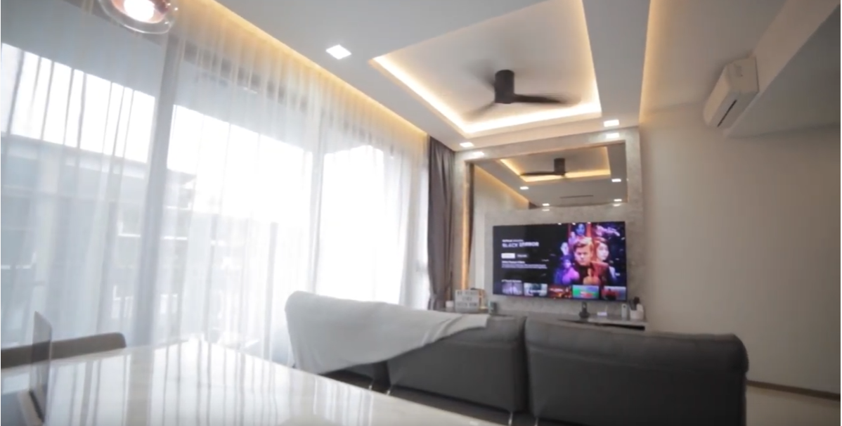 Interior Design Singapore | A marble lover's home (Matrix Interior)