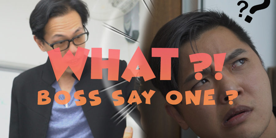 WAIT WHAT?! WHAT DID THE BOSS SAY?!? | Renovation Singapore