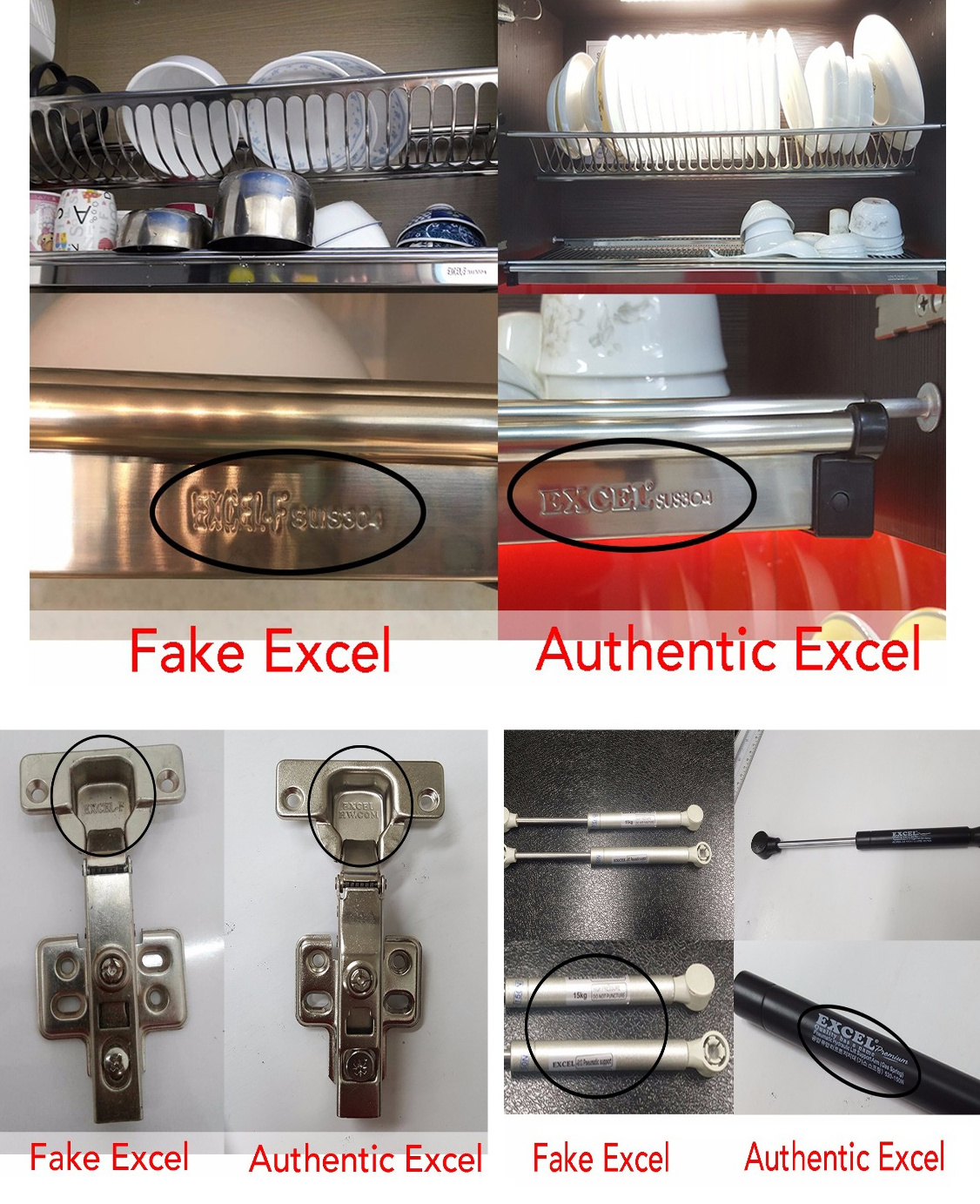 "Recent scams about Excel Hardware replicas have been taking Singapore by storm, and now the company has announced that they'd be persecuting the illegal distributors. On Jan 3rd, Director Kaden Choa declared that Excel Hardware Pte Ltd will make the identity of those who manufacture, distribute or install counterfeit Excel Hardware products such as fake stainless steel dish rack, fake pneumatic arm, fake soft close hinges public news. He said his company is working closely with Amarick Gill LLC to take legal action towards potential violators of the fraudulent activity. ""We will name and shame whoever is doing this,"" was announced by the Director. Moreover, he addressed that the company was proceeding with the lawsuit hand-in-hand with all legal and serviceable distributors in the renovation community. Here's what he said: ""This legal lawsuit is proceeding with the input of the distributor of the product, as well as carpentry workshops, renovation firms, architecture firms, developers and homeowners using Counterfeit Excel Hardware Products."""