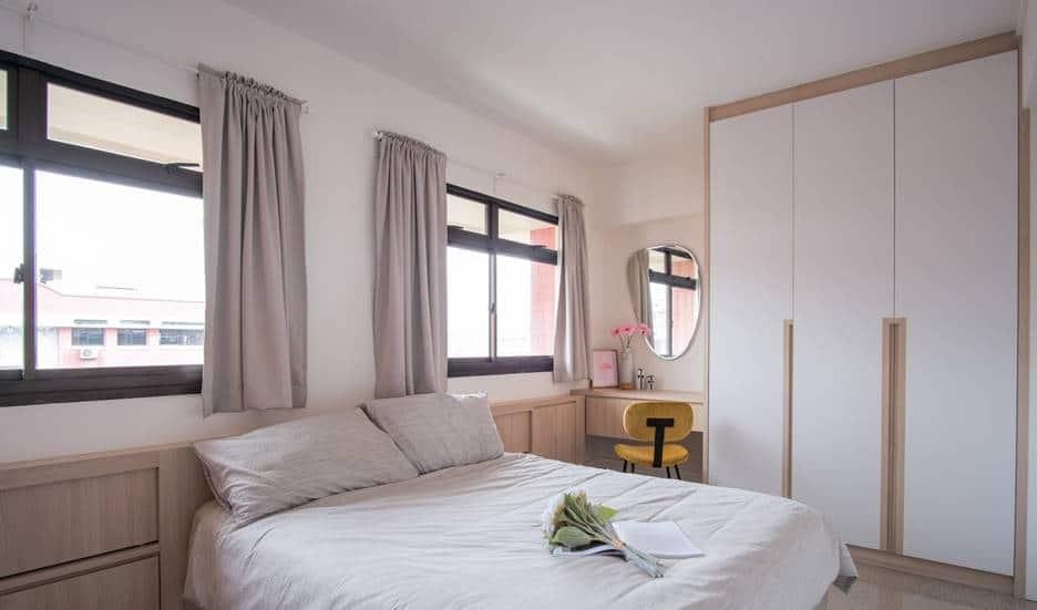 4 Simple Practical Ways To Make Bedroom Look Bigger And Functional