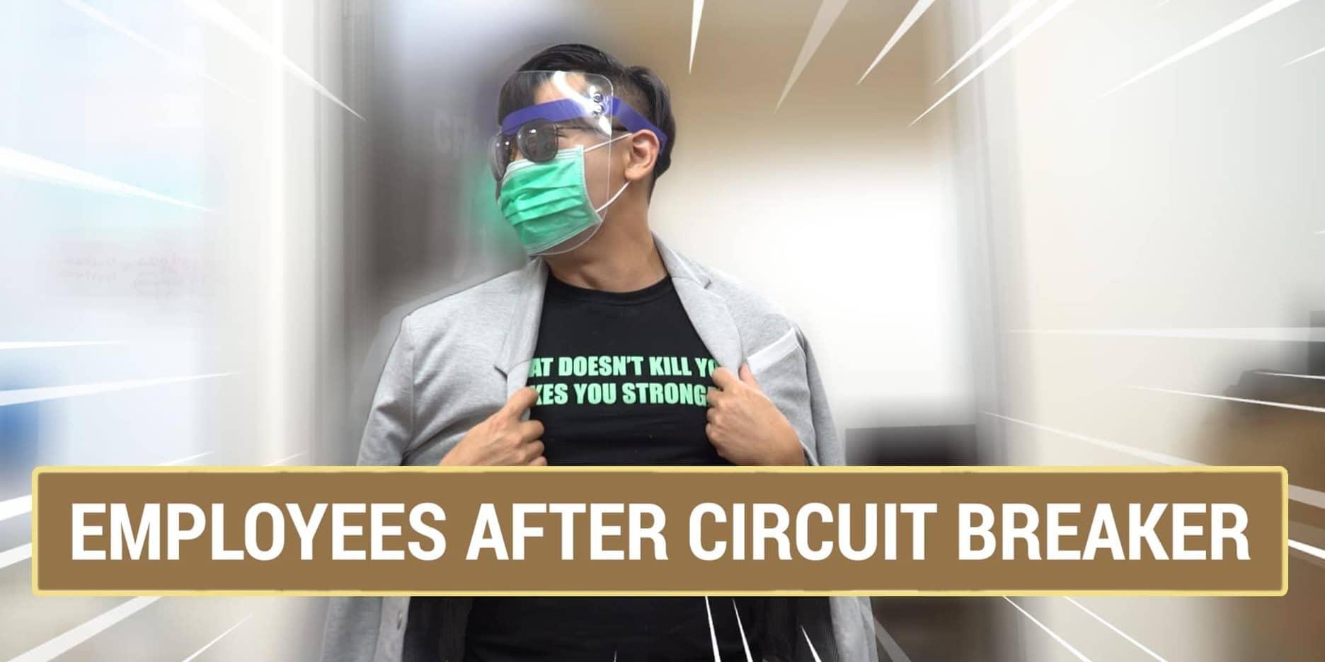 Employees After Circuit Breaker   Singapore Interior Design