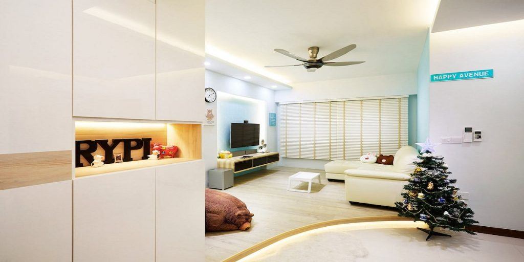 Simple Tricks For Sprucing Up Small Singaporean Living Rooms