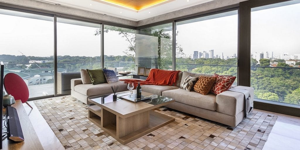 Amazing Singapore Homes Bursting Style So You Want A Burst Of Bright In Your Homes