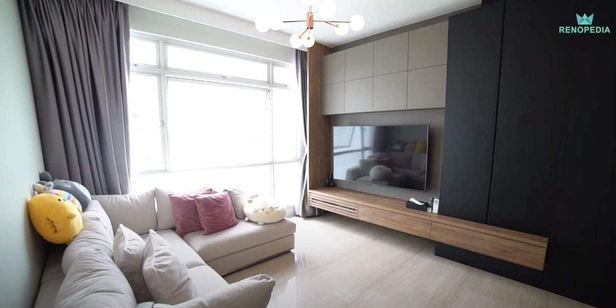 Interior Design Singapore | Comfortable Modern Home With Renoloft