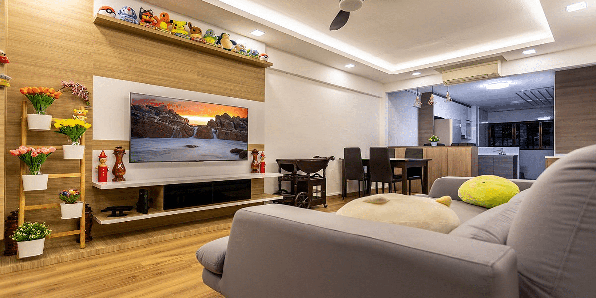 4 Trendy TV Unit Designs For Your Family Room