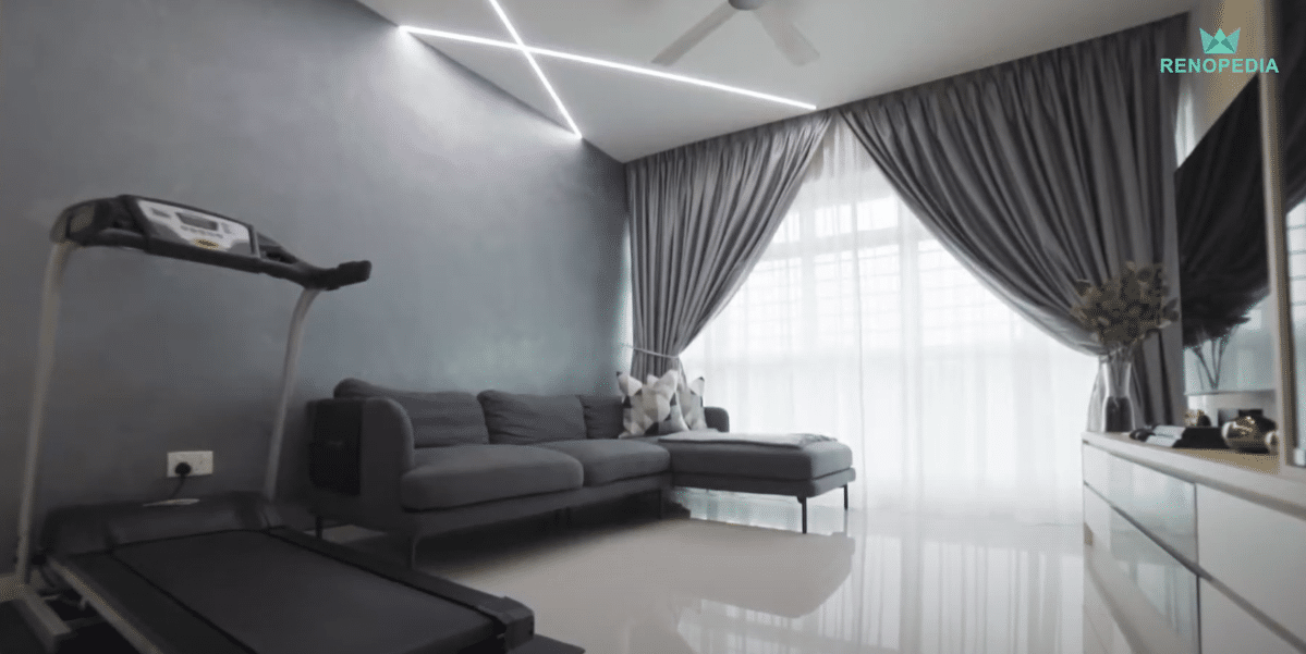 Interior Design Singapore | Smart Lighting For Modern Home (Ace Interior)