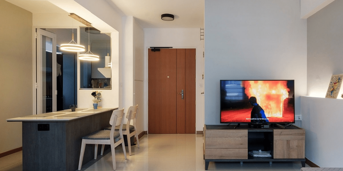 5 Interior Design Ideas For A Small 2 Bedroom Bto Flat