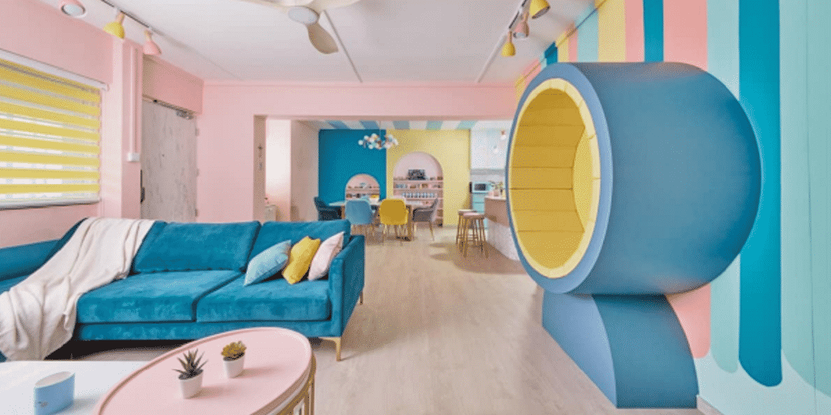 The Psychology Of Colours In Interior Design