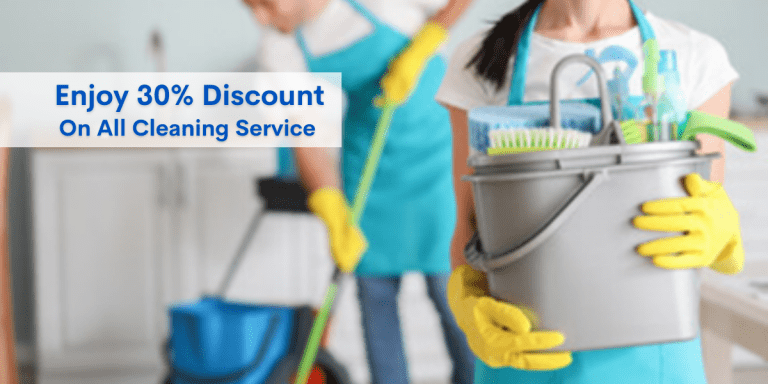 Enjoy 30% Off and Giving Your New Home A Thorough Cleaning Before Moving In